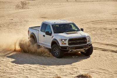 F-150 RAPTOR TERRAIN MODES: WHERE WE'RE GOING, WE DON'T NEED ROADS