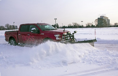 ALL-NEW 2015 FORD F-150 DEBUTS WITH SNOW PLOW OPTION