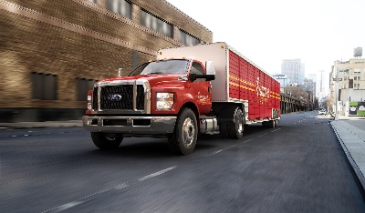 ALL-NEW FORD F-650/F-750 MEDIUM-DUTY TRUCKS ARE TOUGH ON WORK, QUIETER ON THE EARS