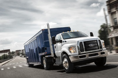 FORD'S BIG TRUCKS HAULING IN BIG SALES: NEW 2016 F-650 AND F-750 TRUCKS HAVE BEST YEAR-TO-DATE SINCE 1997