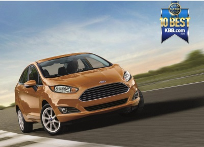FORD FIESTA NAMED TO LIST OF 10 BEST BACK-TO-SCHOOL CARS OF 2016 BY KELLEY BLUE BOOK