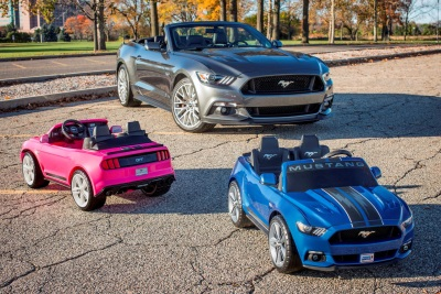 FORD, FISHER-PRICE INTRODUCE POWER WHEELS SMART DRIVE MUSTANG -- MOST ADVANCED POWER WHEELS EVER