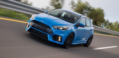 BUCKLE UP: ALL-NEW 350-HORSEPOWER FOCUS RS NOW ARRIVING AT U.S. DEALERSHIPS; FIRST CUSTOMER TAKES DELIVERY IN SAN DIEGO