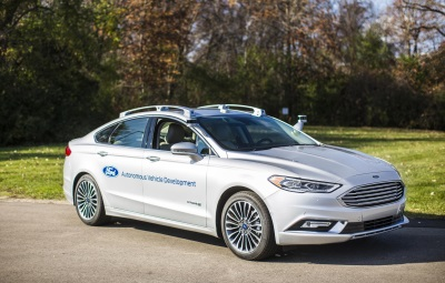 FORD DEBUTS NEXT-GENERATION FUSION HYBRID AUTONOMOUS DEVELOPMENT VEHICLE