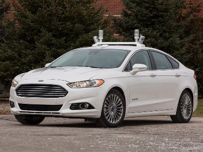 FORD REVEALS AUTOMATED FUSION HYBRID RESEARCH VEHICLE; TEAMS UP WITH UNIVERSITY OF MICHIGAN, STATE FARM