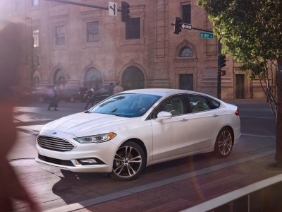 Ford Fusion Named Best Family Sedan In 2017 Motorweek Drivers' Choice Awards