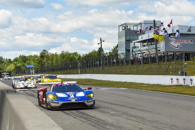 FORD CHIP GANASSI RACING, FORD PERFORMANCE PRESENT LE MANS 24 HOURS WINNERS' TROPHY TO FORD EMPLOYEES