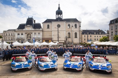 FORD GTs TO RACE IN DOUBLE HEADER AT CIRCUIT OF THE AMERICAS IN TEXAS