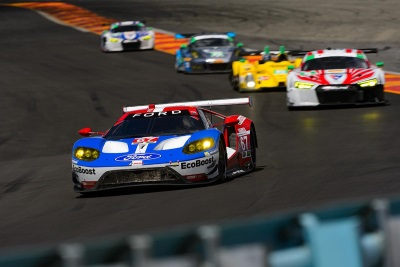 SECOND DOUBLE-PODIUM IN A ROW FOR FORD GT AS FORD CHIP GANASSI RACING FINISHES P1-2 AT SAHLEN'S SIX HOURS OF THE GLEN