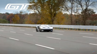 FORD GT CAUGHT HIGH-SPEED TESTING
