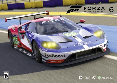 READY TO RACE: FORD GT LE MANS RACE CAR NOW AVAILABLE AS FREE DOWNLOAD IN FORZA MOTORSPORT 6 GAME FOR XBOX ONE