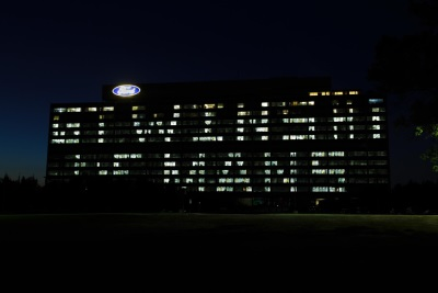 FORD ILLUMINATES HEADQUARTERS TO CELEBRATE FORD GT HISTORIC VICTORY AT LE MANS
