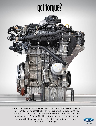 Ford Wins International Engine Of The Year For Second Year; Announces Increase In 1.0-Litre Ecoboost Production