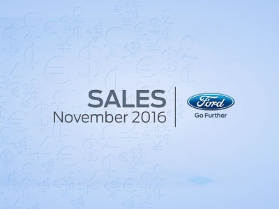 FORD TOTAL U.S. SALES UP 5 PERCENT IN NOVEMBER, RETAIL UP 10 PERCENT; F-SERIES, SUVS AND LINCOLN VEHICLES DRIVE GAINS