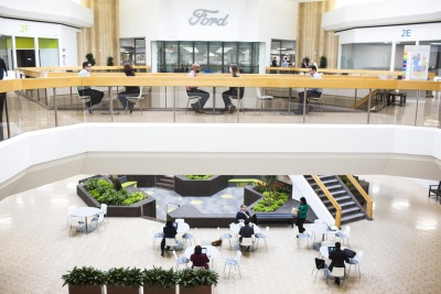 Ford Converts Nearly A Quarter-Million Square Feet Of Unused Mall Area Into New Workspace