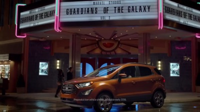Ford Releases Marvel Studios' 'Guardians Of The Galaxy Vol. 2' Commercial, Limited Run Comic Featuring All-New Ecosport