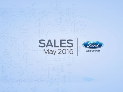 F-SERIES TRUCK SALES POST 9 PERCENT GAIN IN MAY; FORD VANS ACHIEVE BEST MAY SALES IN 38 YEARS