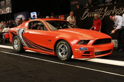 2014 Ford Mustang Cobra Jet Prototype Sells For $200,000 At Barrett-Jackson