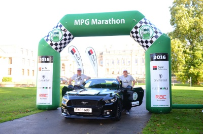 FORD MUSTANG SAVVY: BEST FUEL ECONOMY LEAP EVER IN ANNUAL MPG MARATHON FOR 5.0-LITRE V8