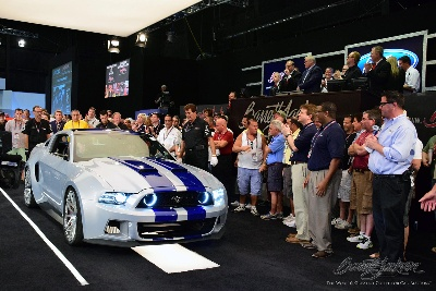 FORD MUSTANG FROM FILM 'NEED FOR SPEED' FETCHES $300,000 AT BARRETT-JACKSON FOR HENRY FORD HEALTH SYSTEM