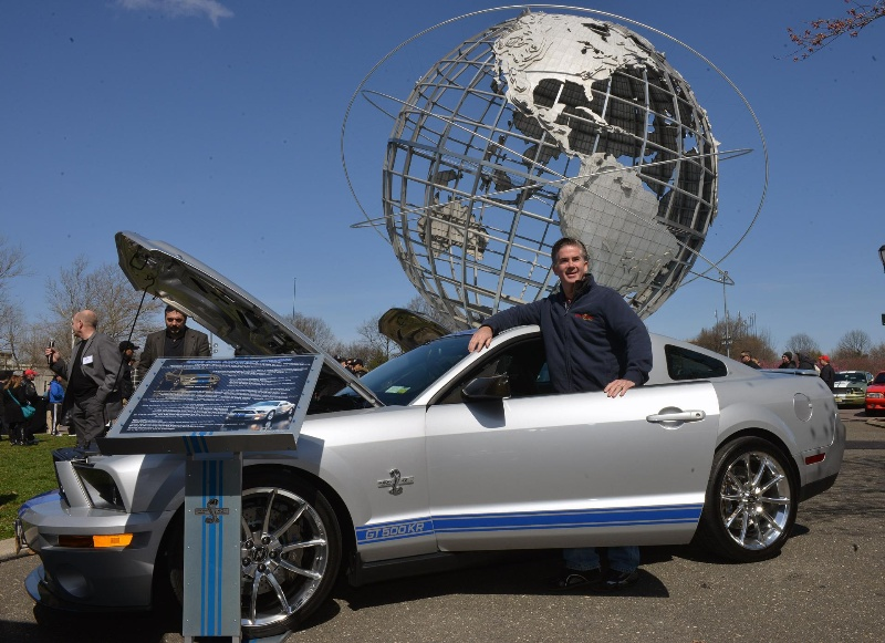FORD MUSTANG RETURNS TO NEW YORK TO CELEBRATE 50 YEARS; 1967 SHELBY GT500 MUSTANG FASTBACK WINS BEST IN SHOW