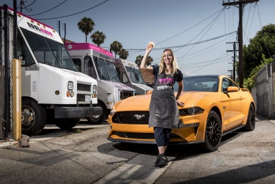 Orange Is The New Snack: Ford Creates Mustang-Inspired Orange Fury Ice Cream Sandwich From Coolhaus