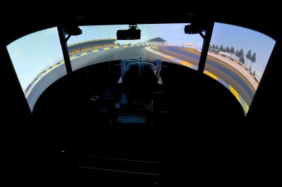 PREPARING FOR LE MANS: FORD PERFORMANCE RACING SIMULATOR