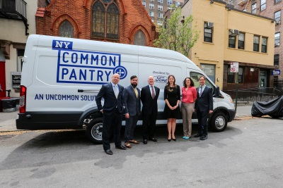 FORD MOTOR COMPANY CONTRIBUTES TO ROBIN HOOD'S 'NIGHT FOR NYC' BY DONATING TRANSIT VAN TO NY COMMON PANTRY