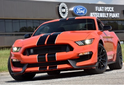 ALL-NEW FORD SHELBY® #GT350R MUSTANG ROARS OFF THE LINE AT FLAT ROCK ASSEMBLY PLANT