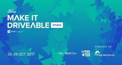 Ford Offers Start-Ups €30,000 And A Way To Fast Track Their Business At 'Make It Driveable' Event In Paris