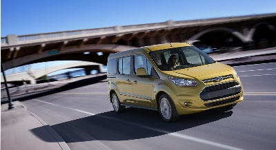 Ford Transit Connect Wagon Earns Government's Highest Safety Rating