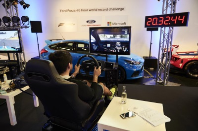 GAMERS DRIVE FORD GT IN FORZA MOTORSPORT 6 FOR 48 HOURS AT LE MANS TO SET NEW GUINNESS WORLD RECORDS TITLE