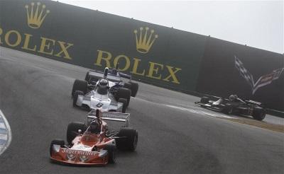 FASCINATING FORMULA 1 : ROLEX MONTEREY MOTORSPORTS REUNION