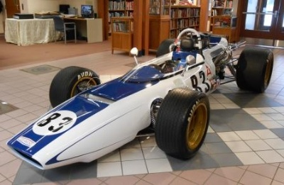Formula 5000 Series Talk at IMRRC May 10; Series Driver Sam Posey Honored Guest