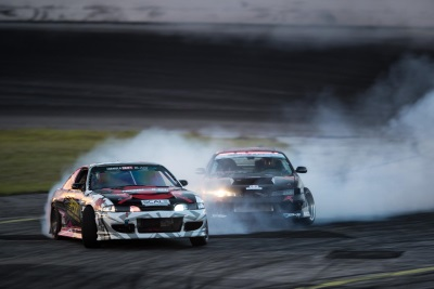 FORMULA DRIFT PRO 2 ROUND 2 CHAMPIONSHIP RESULTS AT ORLANDO SPEED WORLD; MARC LANDREVILLE IS VICTORIOUS