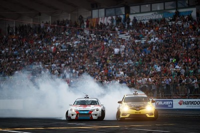 Formula Drift Round 6: Throwdown Results; James Deane Continues His Winning Ways