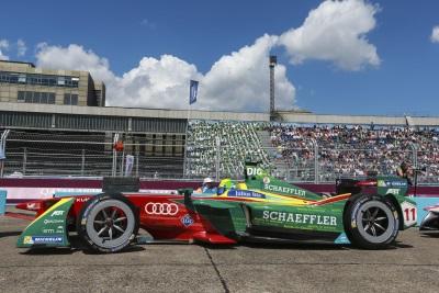 Successful Formula E Home Race For Audi In Berlin