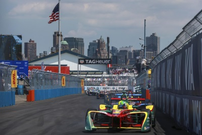 Formula E In New York: Audi Driver Di Grassi Makes Up Ground