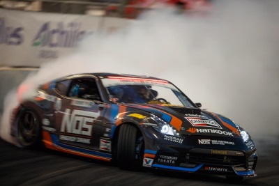 CHRIS FORSBERG BECOMES THE FIRST THREE-TIME FORMULA DRIFT WORLD CHAMPION IN HIS NISSAN 370Z