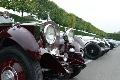 FREE CONCOURS OF ELEGANCE PARKING FOR PRE-1976 CLASSIC CARS