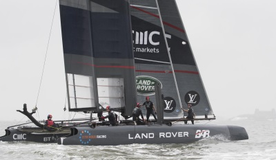 GAME OF THRONES STAR BOOSTS BRITAIN'S AMERICA'S CUP BID