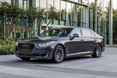2017 Genesis G90 Named New England Motor Press Association's Best Luxury Winter Vehicle