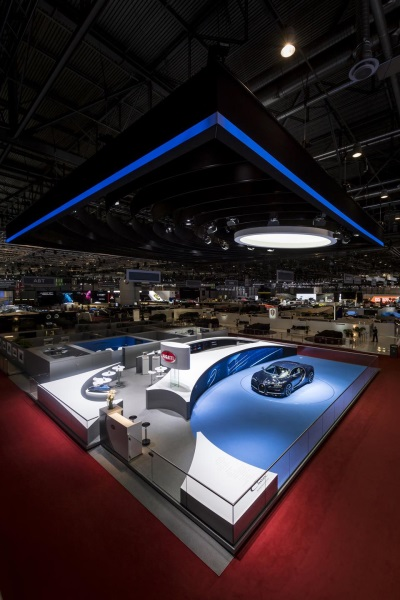 Geneva International Motor Show 2017: Bugatti Honoured For Best Stand Design