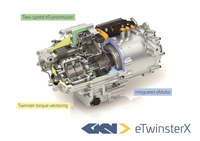 GKN To Reveal World's Most Advanced Electric Driveline At Frankfurt Motor Show