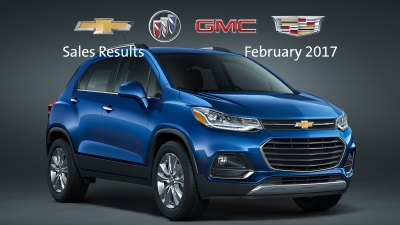 GM Grows Total And Retail Sales In February, Market Share Up Sharply, Transaction Prices Set February Record