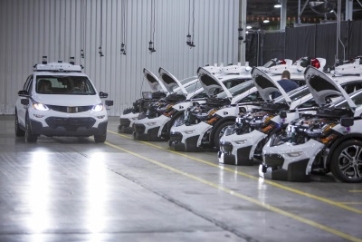 GM Produces First Round Of Self-Driving Chevrolet Bolt Ev Test Vehicles