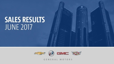 Strong Lineup Of Crossovers And Utilities Drove Gm's U.S. June Sales