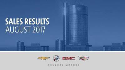 GM's U.S. August Sales Up 7.5 Percent