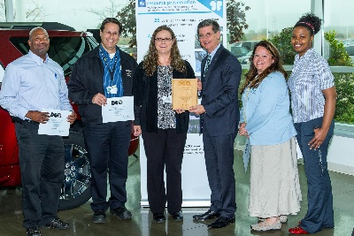 GM PLANTS RECOGNIZED FOR GREAT LAKES STEWARDSHIP