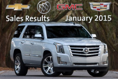 GM'S JANUARY SALES UP 18 PERCENT ON CROSSOVER, TRUCK DEMAND